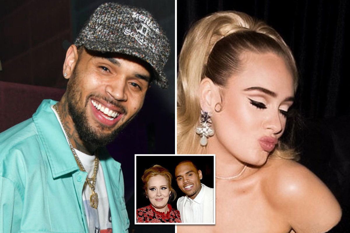 Chris Brown Visita A Adele Y Se Desatan Rumores De Romance Eldominicano Do